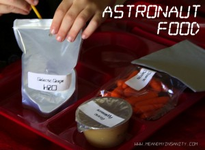 Astronaut food rocket party