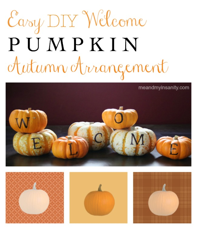 Pumpkin Welcome Arrangement