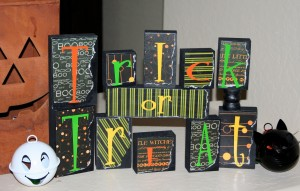 Trick or treat blocks craft