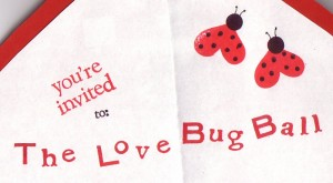 The Love Bug Ball–A Valentine's Party for Kids!