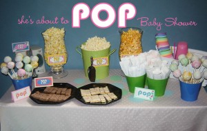 """She's About to POP!""–the coolest baby shower ever!"