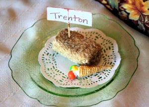 Edible Placecard Holders for a Fun Thanksgiving
