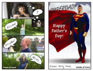 Super dad card 733blog