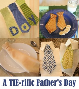 tie-themed fathers day