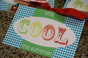 stay cool summer gift