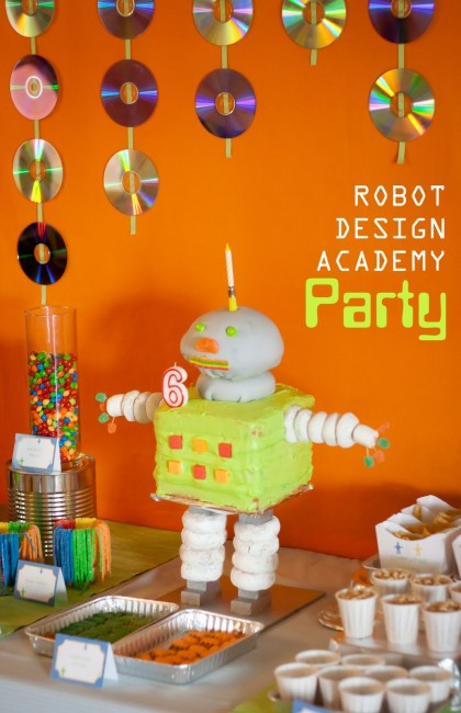 Robot Design Academy Party