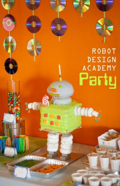 Robot Design Academy Party
