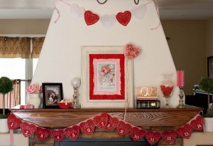 victorian valentine Mantle