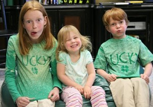 Lucky shirts St Patricks