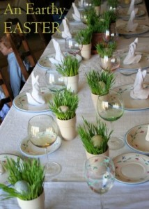 Flashback Friday: Easter Dinner Decor