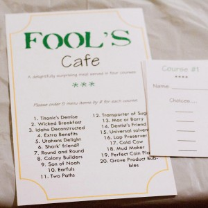 Fool's Cafe – A Surprise Dinner Tradition