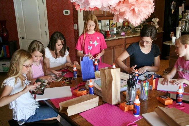 Elmers father's Day craft Party