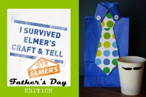 Elmer's Craft and Tell Party- Father's Day Crafting