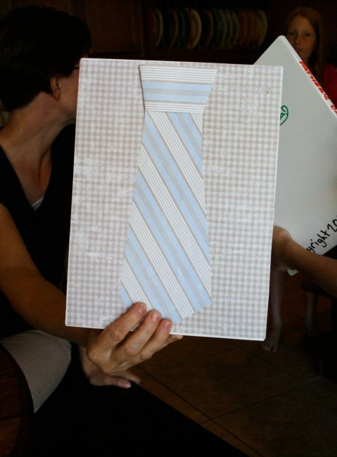 Giant Tie card for Father's Day