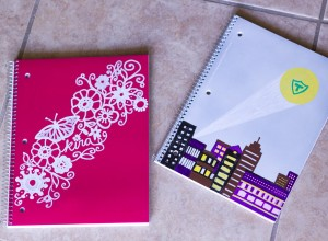 Personalized Notebooks Back to School
