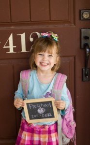 back to school photo chalkboard