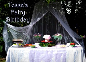 Birthday party for 3 year old girl