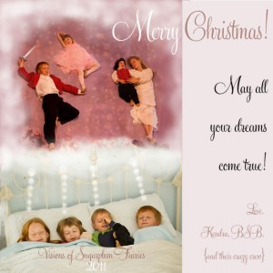 Nutcracker Christmas Card