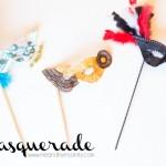 Masquerade Masks - Scribble Shop Challenge