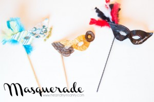 Masquerade Masks – Scribble Shop Challenge