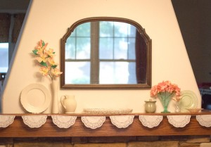 mother's day mantel