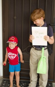 Back to School Photos…in July