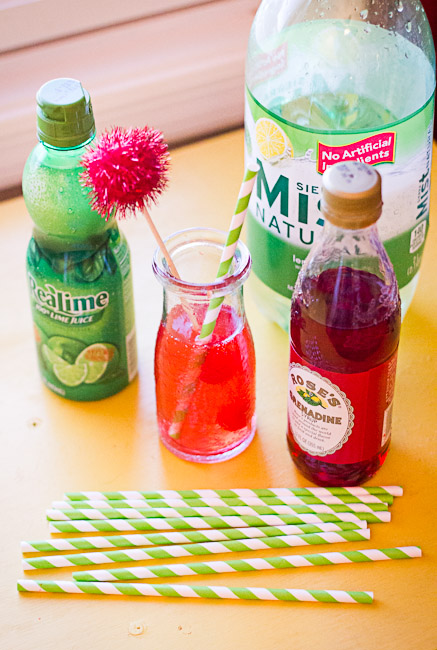 Easy Cherry Limeade