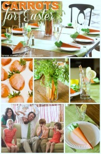 Carrot Easter Collage Pinterest Title