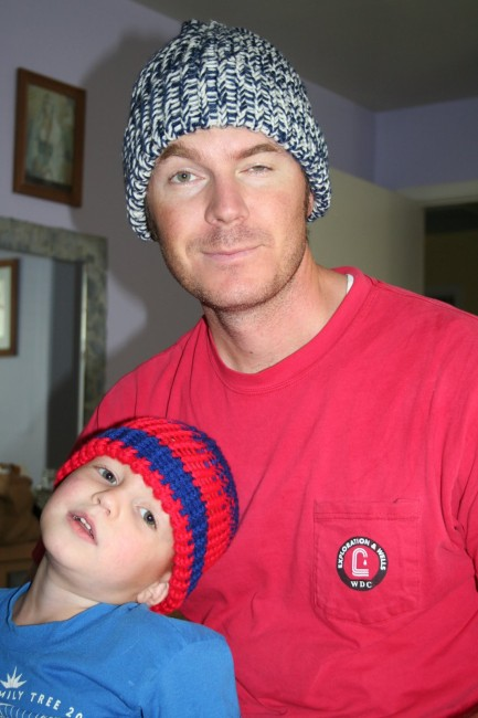 loom knit hats
