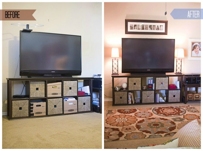 TV Before and after