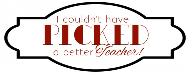 picked teacher