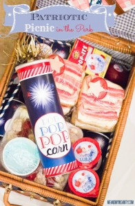 Patriotic Picnic with Fresh & Easy