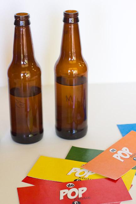 Pop Bottle Music Labels-8447