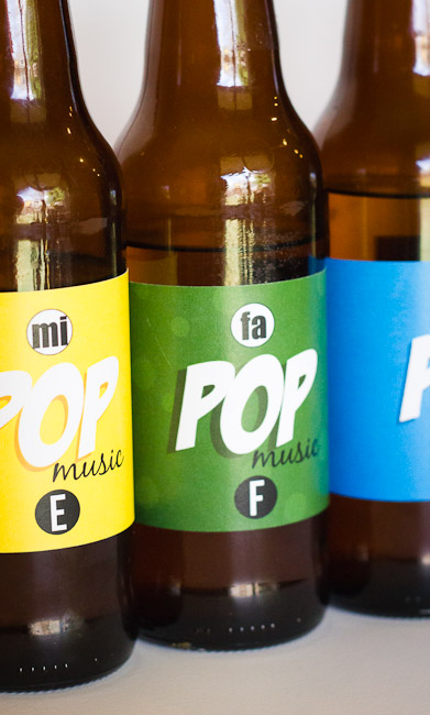 Pop Bottle Music Labels-8455