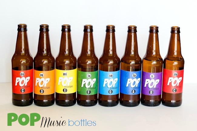 Pop Bottle Music Labels Titles