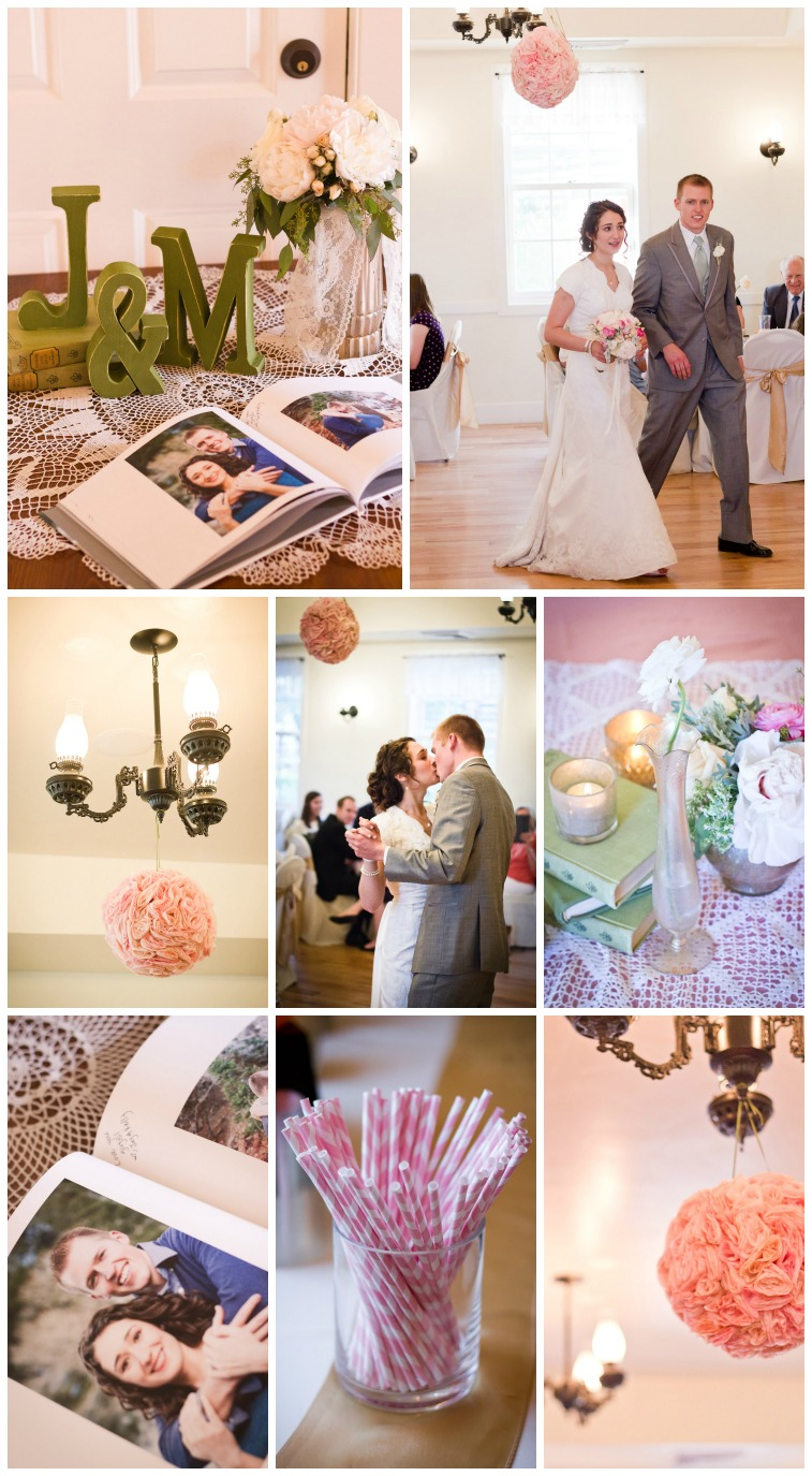 Vintage Wedding Reception