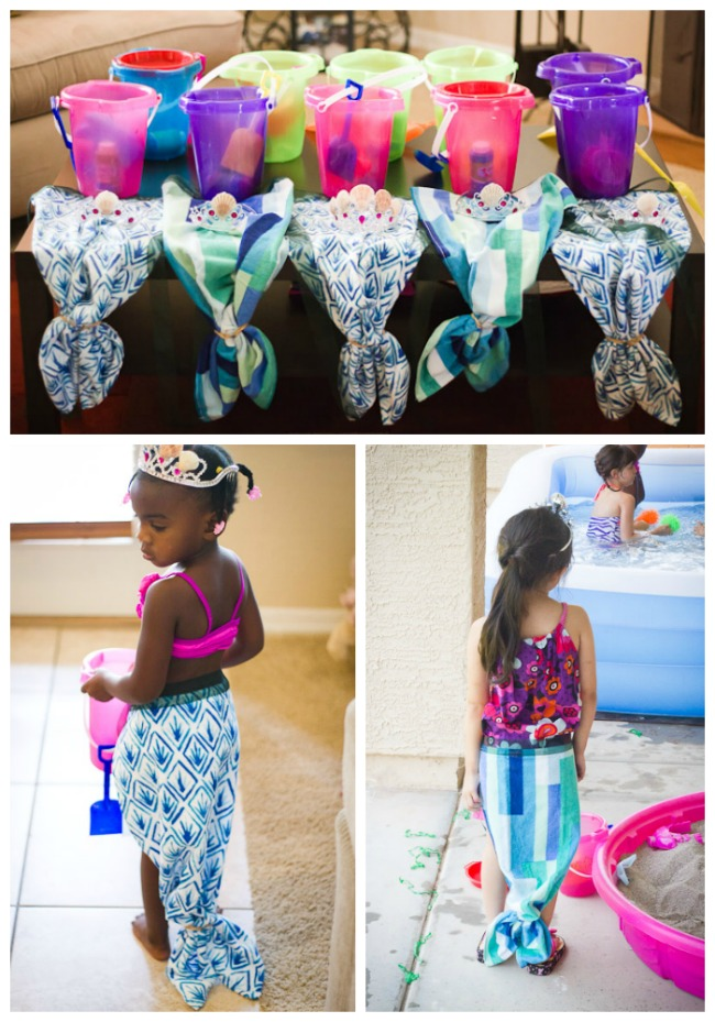 DIY Mermaid tails