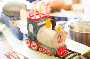 How to make a 3D Train Cake