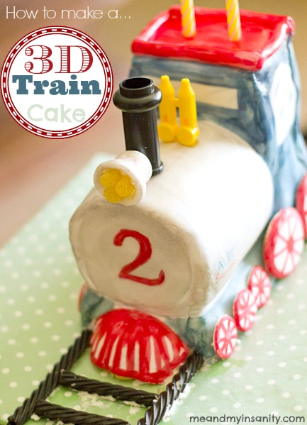 how to make a train cake title