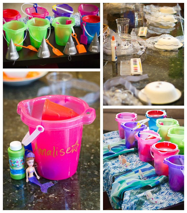 ocean party favors