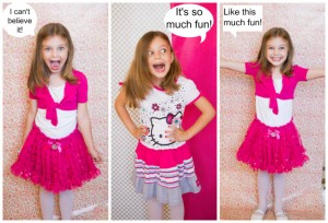 Hello Kitty Kukee fashion collage 2