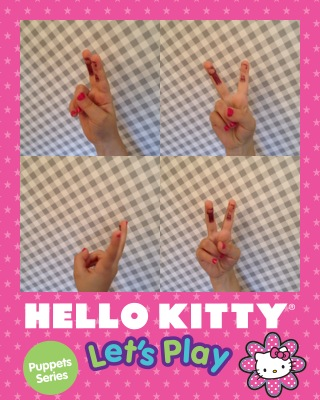 Hello Kitty Finger puppet