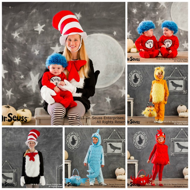 Dr Seuss Family Costumes