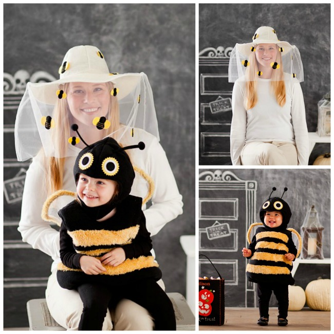 beekeeper family halloween costumes