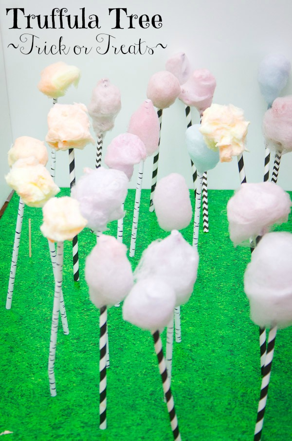 cotton candy truffula tree treats Title