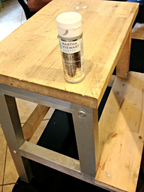 martha stewart metallic paints