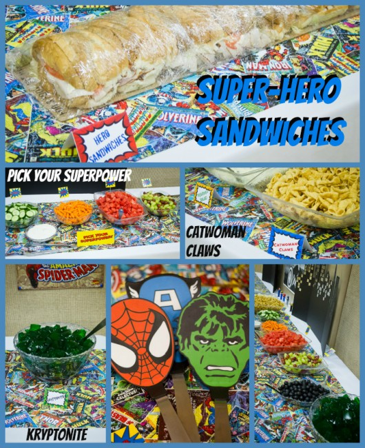 super hero food ideas