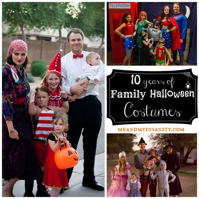 Family Costume Collage