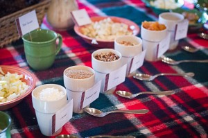 Cozy Tablescape and Oatmeal Breakfast Bar