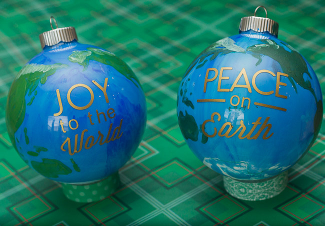 peace on earth DIY ornament-9799